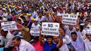 Image of Patidar agitation in Gujarat